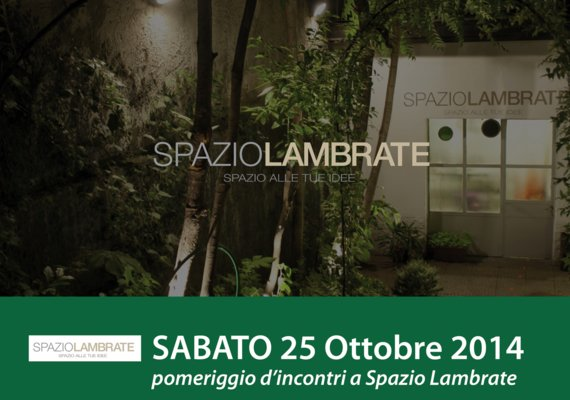 <p>Presentation of the activities of the space. Speech by Cristina Castigliola. Aperitif.</p>